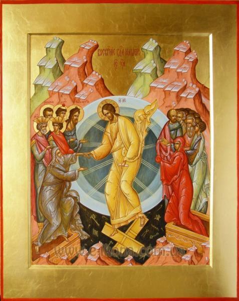 воскресение господа нашего ис.ха.
